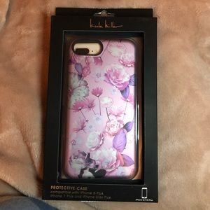 Nicole Miller Floral iPhone (8,7,6) Plus Case